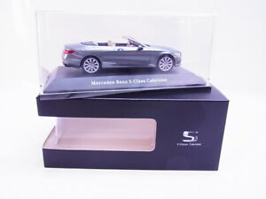 63132 Kyosho Mercedes-Benz S-CLASS Cabriolet Gray Model Car 1:43 New Boxed