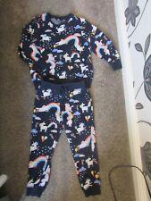 girl Next age 3-4 years Unicorn outfit Jog suit set