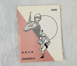 1968 North Kansas City Youth Baseball Yearbook Sports Little League Vtg Photos