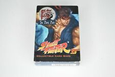 Street Fighter Collectible Card Game CCG The Dark Path Ryu UFS Set in Box