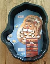 "Santa Claus Face Cake Pan 12"" L by Kaiser NEW Nonstick Finish"