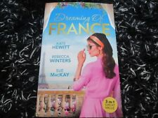 MILLS & BOON DREAMING OF FRANCE 3 IN 1 LIKE NEW 2018