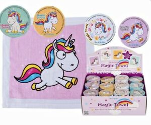 Unicorn Kids Magic Face Cloth Flannel Expanding novelty birthday gift mythical