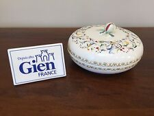 Gien TOSCANA Candy Bowl with Lid ~ France