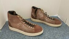 Converse Brown Leather Hi Top Size 9.5 Men's Sneakers