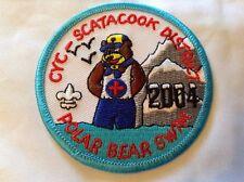 Boy Cub Scout Connecticut Yankee Council 2004 Scatacook Polar Bear Swim S