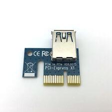 PCIE PCI Express 1x Extenditore Scheda riser ADATTATORE ALTA VELOCITÀ USB 3.0
