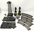 VTG Marx 3 Rail Curve Track, Control Switch, Tower & Signal O Scale Lot - READ