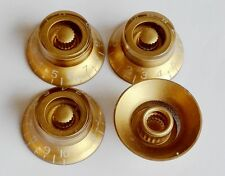 Volume Tone Control Bell Hat Knob GOLD for USA Gibson Les Paul Guitar CTS Pot
