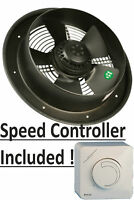 "INDUSTRIAL EXTRACTOR FAN 10""/250 mm, 240 V, 760m3/h, RPM 1400"