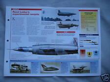 Aircraft of the World Card 44 , Group 16 - Leduc O.21/O.22