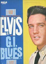 ELVIS PRESLEY gi blues HOLLAND/GERMANY 1977 ORANGE LABEL