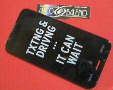 DISPLAY+TOUCH SCREEN +COVER FRAME PER LG E985 OPTIMUS G PRO Vetro Lcd E980 E986