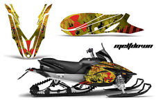 YAMAHA APEX GRAPHIC KIT AMR RACING SNOWMOBILE SLED WRAP DECAL 12-13 MELTDOWN YEL
