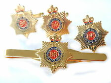 Royal Army Service Corps RASC Gift Set Military Cufflinks, Lapel Badge, Tie Clip