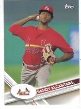 2017 TOPPS PRO DEBUT #13 SANDY ALCANTARA PALM BEACH CARDINALS ST. LOUIS CARDS