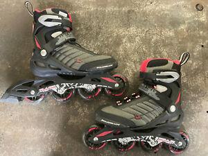 Rollerblade Zetrablade - Womens 7 - Inline Skates - Black Pink