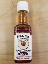 Buck Nut Doe Peak Estrous 100% Pure Doe Urine Deep Woods Tested
