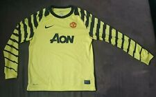 Nike Manchester United Football soccer jersey goalkeeper 2008 2009 youth Large