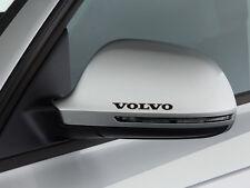 3 x Volvo Aufkleber für Spiegel S40 S60 S80 V50 V70 C30 C70 Emblem Logo B