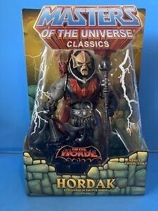 Masters of the Universe Classics Hordak Evil Horde Mattel Collector MOC 100%