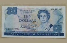 1981 -92 NEW ZEALAND 10 Dollars 'BRASH' @P-172c