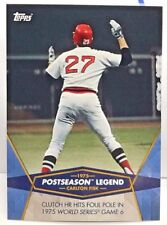 Carlton Fisk 2017 Topps On Demand Postseason Heroes & Current Stars #19  RED SOX