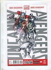 UNCANNY AVENGERS #1 (9.2) VARIANT COVER!