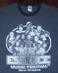 T Shirt Essence Music Festival New Orleans 2009 Beyonce John Legend Al Green XL