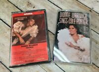 Dionne Warwick 2 Cassette Tape Lot - Sings Cole Porter & Friends
