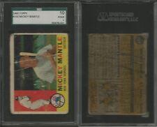 1960 Topps Baseball Card set/lot 250+ cards Mickey Mantle #350 Rookies Stars @@
