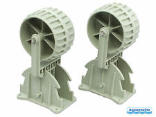 New Flipup Boat Launching Wheels - for Dinghy/Inflatable/Aluminum/RIB/etc.