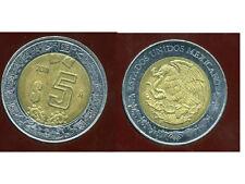 MEXIQUE 5 pesos 2011