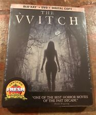 The Witch Steelbook, Blu Ray, Horror, Cult, New, Factory Sealed