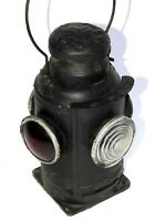 Railroad Lantern Vintage Adlake Sty Antique Indian Rail Lamp Switch 4 Way Signal