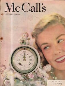 1949 McCalls January - Cedar Falls IA best cook; Portland OR Teacher; Banning