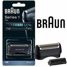 Hombre Braun 11B Recambio Lámina y Cortadora Cabeza Azul Combi Pack 5685 Serie 1