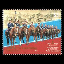 Argentina 2012 - Anniversary of the St. Martin Horse Battle War - Sc 2666 MNH