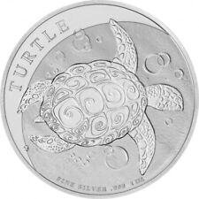 NIUE 2 Dollars Argent 1 Once Tortue 2021