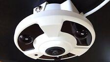 4MP IP POE Fisheye Panoramic ONVIF camera 360 Degree Super Wide Angle - Audio