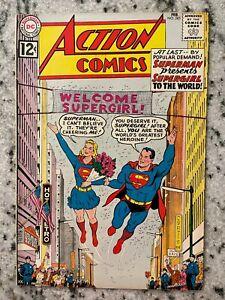 Action Comics # 285 VF/NM DC Comic Book Feat Superman Flash Batman Supergirl SF2