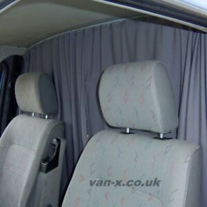 Fiat Ducato motorhome ,camper van Cab Divider Curtain With rail