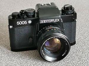, Revueflex 5005 M. Revuenon 55mm f1.4, sehr schön. M42 / Chinon CE 2 memotron