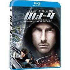 Blu Ray MISSION IMPOSIBLE 4 - Protocollo Fantasma ......NUOVO