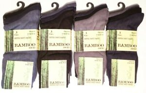 3 Pairs Mens Summer/Coloured Luxury Bamboo Super Soft Anti Bacterial Socks 6 11