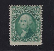 US 68 10c Washington Mint F-VF OG H SCV $950