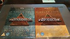 National Treasure 1 & 2 - Limited Edition Steelbook (Blu-ray) Book of Secrets