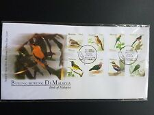 MALAYSIA BIRDS 2005 DEFINITIVE FDC NH