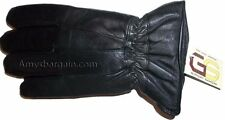 Men's Size XXL Leather Gloves Winter gloves lined warm Black leather gloves BN 1