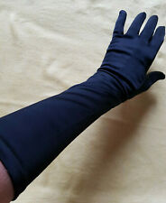 "LONGS GANTS VINTAGE NOIRS ""Neyret"" made in France"